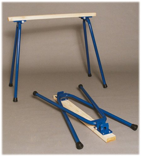 Target Precision RB-H1028 Rugged Buddy 28-Inch Folding Sawhorse Legs for One Complete...