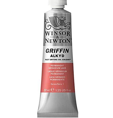 Winsor & Newton - Griffin Alkyd Color - 37ml Tube - Permanent Geranium Lake