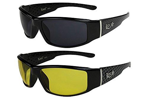 2er Pack X-CRUZE® Fahrrad Sonnenbrille Brille Herren Damen Männer Frauen rot FWLKp70YSM