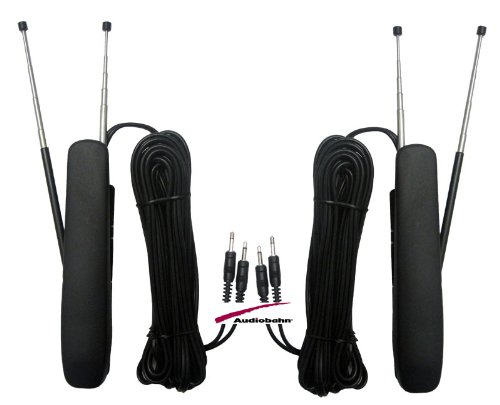 AVA20Q - Audiobahn Vehicle Television TV Antenna (For All Tuner Brands)