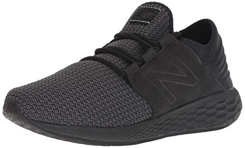 New Balance Men's Cruz V2 Fresh Foam Running Shoe, black, 10 D US (Top 10 Best Running Shoes 2019)