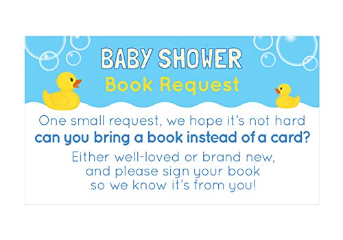 - Rubber Ducky - Book Request - 24 count