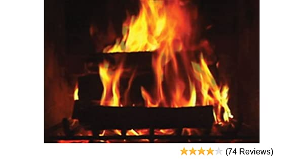 Amazon Com Digital Fireplace Vhs Robin Bergman Movies Tv
