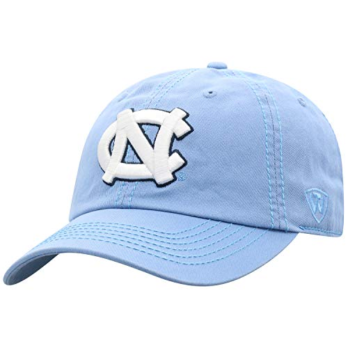 Top of the World North Carolina Tar Heels Men's Hat Icon, Blue, - North Carolina Tar Cap Heels