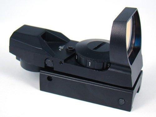 IRON JIA'S 20mm airsoft Tactical ferroviaire multi réticule 4 Rouge et Green Dot Sight Portée queue d'aronde Monts Red… 3