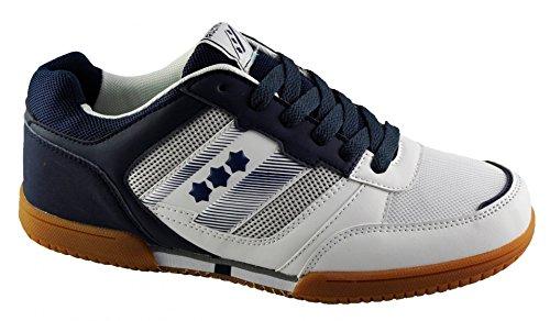 Silvan D' 36 Blanc Bleu Unisexe Chaussures Taille Intérieur qaw4BxBAp