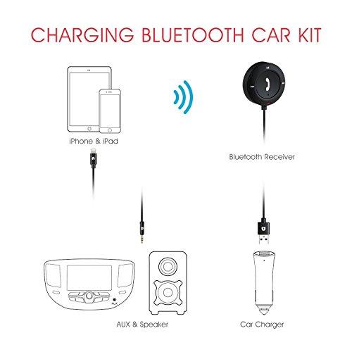 bluetooth 4 2 charging car kit  hands