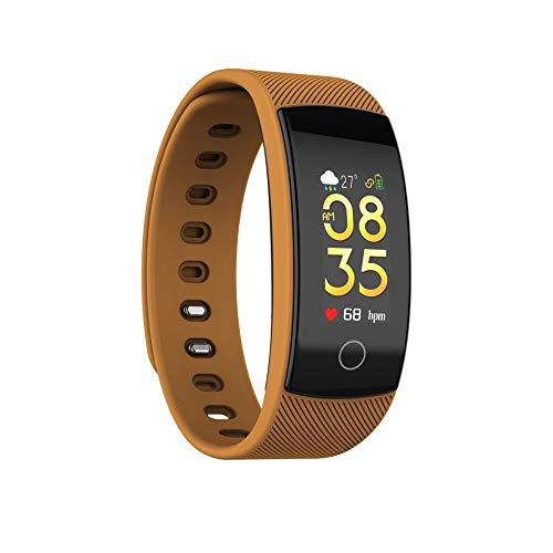 (Redvive Top QS80 Plus Bluetooth Smart Watch Bracelet Heart Rate Blood Pressure Fitness Track)