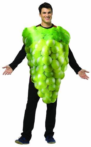 [Rasta Imposta Get Real Green Grapes, Green, Standard] (Real Grim Reaper Costume)