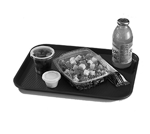 Cambro Fast Food Tray 10'' X 14'', Primrose Yellow (1014FF108) Category: Serving Platters and Trays by Cambro (Image #1)