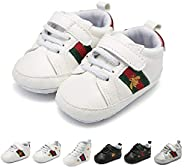 YWY Baby Boys Girls Shoes Canvas Anti-Slip Prewalkers First Walking Shoes Walkers 0-18 Months