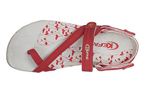 Kefas Sandalen Damen Kefas Damen Rot 0xB7pSwxq