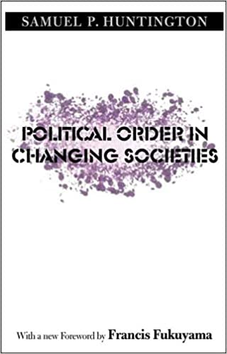 image for Political Order in Changing Societies (The Henry L. Stimson Lectures Series)