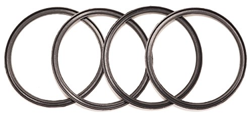 Ablewood Products 4 Pack New OEM Replacement Rubber Lid Seals for 10, 12, 16 and 20 Ounce Insulated Stainless Steel Tumblers Such as Yeti RTIC Ozark Trail Mossy Oak Atlin Beast