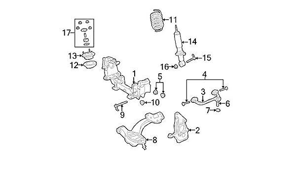 Amazon Com Ford Bolt 6w1z 3a358 Aa Automotive
