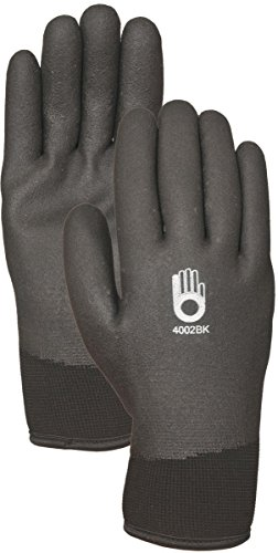 Bellingham C4002BKXL Insulated Thermal Knit Work Glove, HPT PVC Water Repellent Palm, X-Large, ()