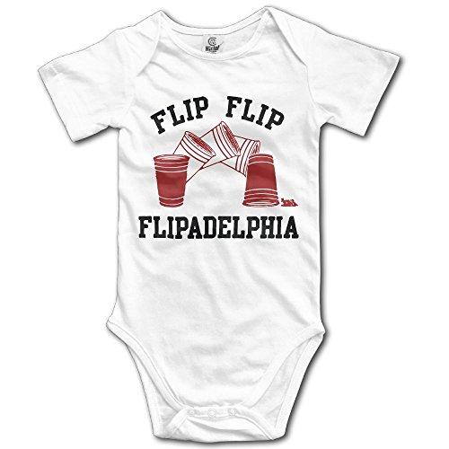 SmallHan Its Always Sunny in Philadelphia Unisex Particular Newborn Baby Romper Baby Boy Bodysuit 18 Months White ()
