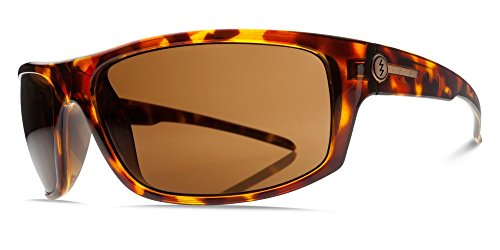 Electric TECH ONE Sunglasses, Gloss Tortoise Glass Polarized Bronze, OS
