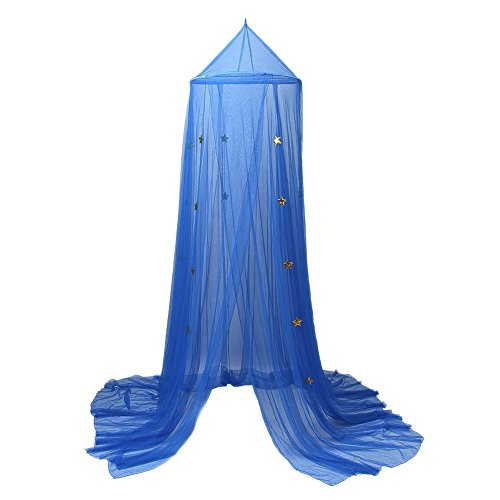Per Polyester Dome Bed Canopy Kids Play Tent Mosquito Net with Stars Reading Play Tents Indoor&Outdoor Games House for -