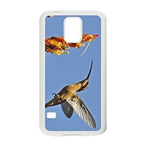 The Flying Hummingbird Hight Quality Plastic Case for Samsung Galaxy S5 by runtopwell