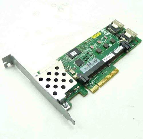 HP 462919-001 Smart Array P410 8-Port SAS RAID Controller 256MB ECC DDR2 SDRAM PCI Express x8 300MBps 2 x Mini-SAS SAS 300 Serial Attached SCSI Internal (Renewed)
