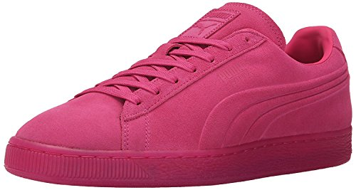 Puma Mens Suede Emboss Iced Fluo Fashion Sneaker, Beetroot Purple, 44 D(M) EU/9.5 D(M) UK