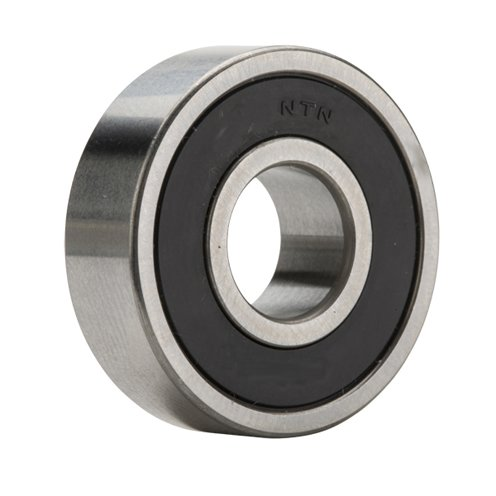 NTN 6203LB - Radial/Deep Groove Ball Bearing - Round Bore, 17 mm ID, 40 mm OD, 12 mm Width, Single Seal, CN by NTN