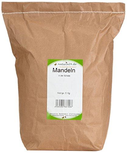 Naturix24 Mandeln in der Schale, 1er Pack (1 x 5 kg)