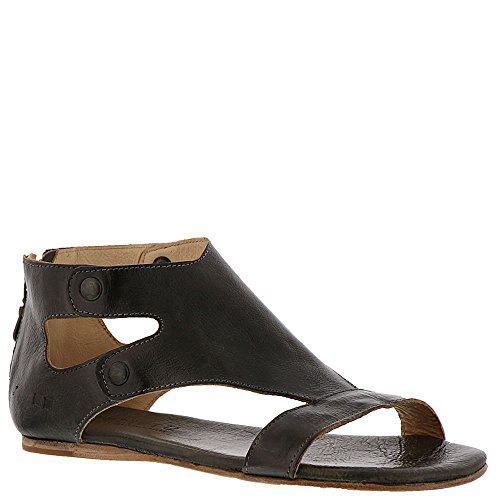 Letto Stu Womens Soto Flat Sandal Taupe Rustic 1
