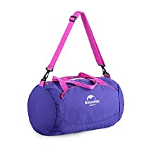Wet Dry Gym Bag (Waterproof) Men and Women | CrossFit, Yoga, Pilates, Weightlifting, Swimming,Exercise | Lightweight, Compact Travel Carryall (Cotton Candy Pink,)