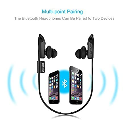Bluetooth Earbuds, CHOETECH Sweatproof Sports Headphones Wireless in-Ear  Earphones with Mic (Bluetooth 4 1, Noise Cancelling, Secure Fit and