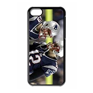 KOKOJIA Cell Phone Cases For Iphone 5c Cell Phone Design With 2015 KOKOJIA #12 Tom Brady American football quarterback for the New England Patriots niy-hc840588