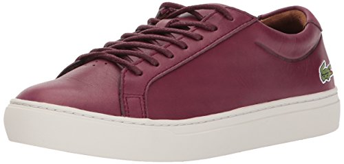 Lacoste Men's L.12.12 317 1 Sneaker, Burgundy, 9 M US
