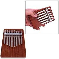 New 8 Key Finger Mbira Kalimba Likembe African Thumb Pocket Piano By KTOY