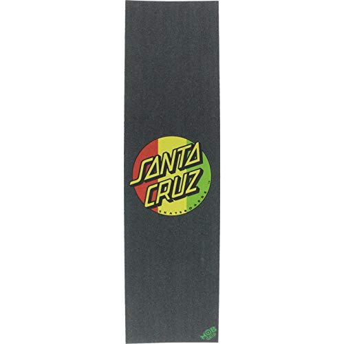 SC/Mob Rasta Dot Grip 9x33 - Single Sheet by Santa Cruz Skateboards