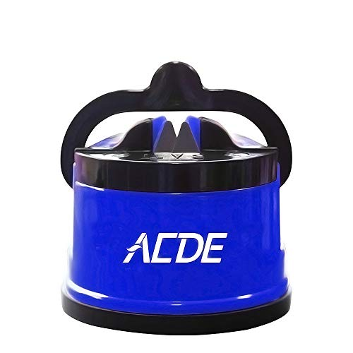 ACED Knife Sharpener with Suction Cup (Blue)