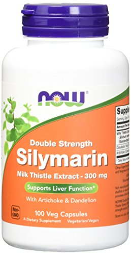 NOW Foods Silymarin/Milk Thistle 300mg, 100 Vcaps