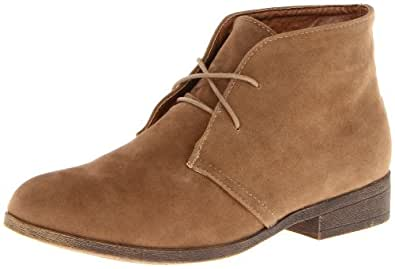 Madden Girl Women's Dontee Boot,Taupe,5 M US