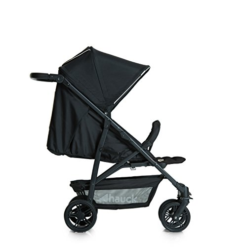 Amazon.com : Hauck Rapid 4 Pushchair - Caviar/Black : Baby