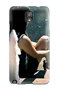 Protective Tpu Case With Fashion Design For Galaxy Note 3 (angel)