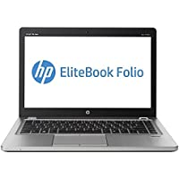 2018 HP EliteBook Folio 9470M 14 LED-backlit HD Business Laptop Computer, Intel Dual-Core i7-3667U Up to 3.2Ghz, 8GB RAM, 1TB HDD, VGA, Webcam, Windows 10 Professional (Certified Refurbishd)