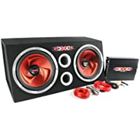 XXX XBX-1200B 12 1200W Car Subwoofers Subs/Amplifier/Amp Kit/Sub Box Package
