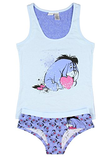 Disney Eeyore Women's Cami and Panty Sleep Set - Sleep Panties