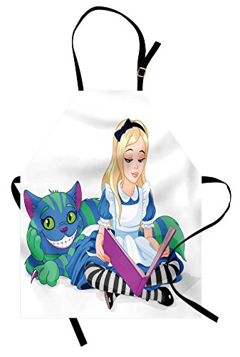 Book Character Costumes Ideas Images - Ambesonne Alice in Wonderland Apron, Alice