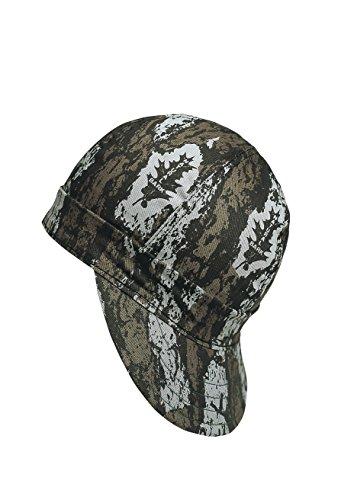 338-00000-0775 Kromer Bark Camo Style Welder Cap 7 3/ 4, Cotton, Length 5