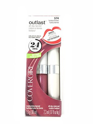 COVERGIRL OUTLAST 24 HR. ALL DAY LIPCOLOR DUO #574 Fuchsia Forever