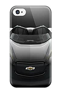 New Arrival Case Cover With MiZSFPb5222OlGub Design For Iphone 4/4s- 2011 Chevrolet Mi Ray Roadster Concept
