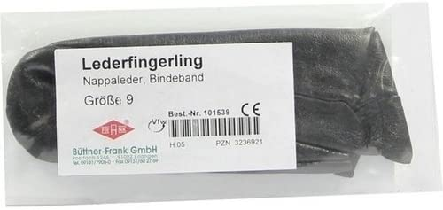 FINGERLING Leder Gr. 9 Bindeband, 1 St
