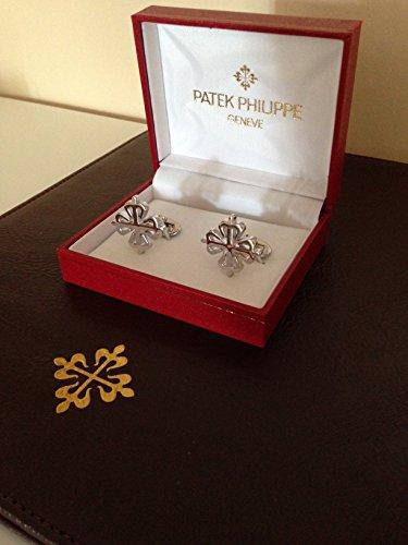 patek-philippe-chrome-plated-mens-merchandise-cufflinks