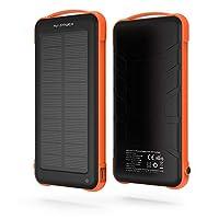 Solar Powerbank 20000 mAh Black & Ye...
